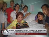 Bella Flores celebrates 84th birthday in hospital