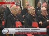 Vatican pre-conclave meetings begin