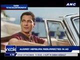 Audrey Hepburn resurrected in ad