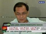 DOE: Luzon, Visayas power supply enough despite Leyte landslide
