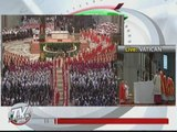 Process of electing new pope begins