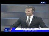 Beckham tours local football club in China