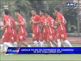 Azkals to go on offensive vs Cambodia