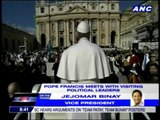 Binay boasts of son's Jesuit ties with Pope