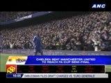 Chelsea beat Man U to reach FA Cup semis