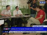 Meralco to raise power rates this month