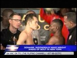 Donaire, Rigondeaux make weight ahead of bout