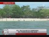 Tourists flock Zamboanga's 'pink beach'