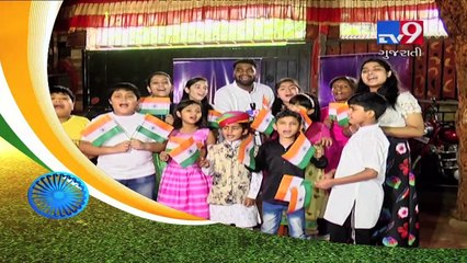 Superstar Singer contestants celebrate Independence Day| TV9GujartiNews