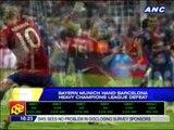 Bayern hands Barcelona heavy defeat