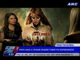 'Iron Man 3' stars share their favorite Filipino experience