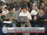 Gov't employees, media cast early votes
