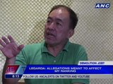 Legarda: Allegations meant to affect my ranking
