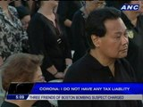 Corona no longer surprised with tax evasion case against him
