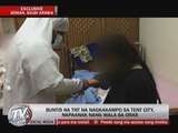 EXCL: Stranded OFW in Saudi 'tent city' gives birth to baby girl