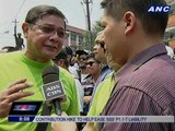 Senatorial candidates join Labor Day rallies