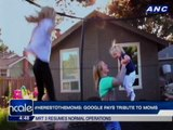 #HeresToTheMoms: Google pays tribute to moms