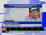 MRT Guadalupe ops suspended as man commits suicide