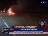 Filipino bride, 4 friends killed as limousine catches fire