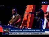 Pinoy singer shines on 'The Voice UK'