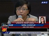 Peace process adviser Ging Deles, PH peace panel appear at FOCAP forum