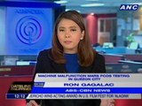 COMELEC resumes final testing of PCOS machines