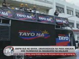 BMPM 'Bus ng Bayan' rolled out for elections