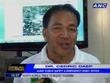 Rescuers to bring down injured Russian tourist from Mayon