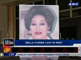 Bella Flores laid to rest