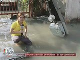 Busted water pipes cause floods in Mandaluyong