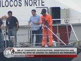 Taiwan probers watch Coast Guard video