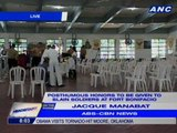 Posthumous honors to be given to slain soldiers at Fort Bonifacio