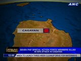 7 PNP special action force members killed in NPA attack in Cagayan