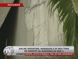 Airlines alarmed over falling debris in NAIA 1