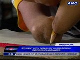 Student with disability in Sorsogon inspires classmates