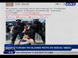Turkish protests documented through Instagram, Twitter, Facebook