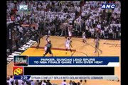 Parker, Duncan lead Spurs to Game 1 win over Heat