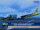 Duterte eyeing administrative charges against Davao airport management