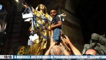 Marseille : des centaines de personnes réunies pour fêter l'Assomption à la Major