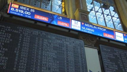 El Ibex 35 marca un nuevo mínimo anual tras ceder un 0,04 % en los 8.519 puntos