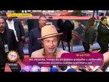 ¡Brad Pitt está en México y así enloqueció a sus fans! | Sale el Sol