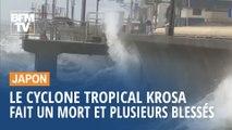 Le cyclone tropical Krosa a fait un mort et plusieurs blessés au Japon
