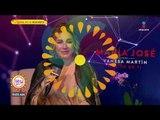 ¿María José se limpia los besos de sus fans? | Sale el Sol