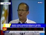 PNoy: Don't be deceived by Corona's lies