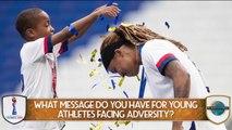 Jessica McDonald's Advice For Aspiring Athletes
