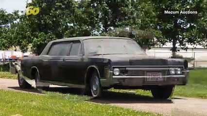 Auction-House Rock! The Car Elvis & Priscilla Drove After Their Wedding Is Up For Auction!