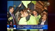 Perfilación criminal al expresidente Correa
