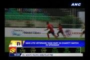 Man U vets play Myanmar charity match