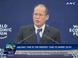 Aquino: This is the perfect time to invest in PH