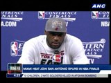 Miami joins San Antonio in NBA Finals